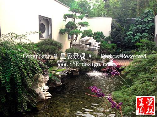 九间堂别墅花园