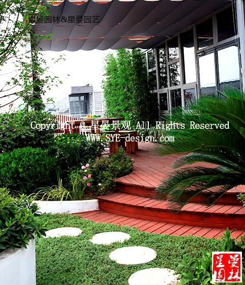 上海车墩厂房屋顶花园